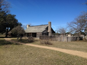 LBJ's grandparents' settlement