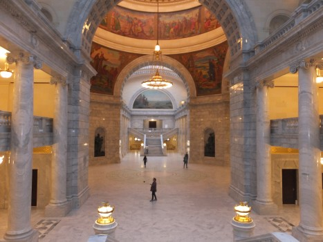 Stunning inside SLC Capitol building!
